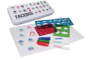 Facebox Stencil & Pen Set
