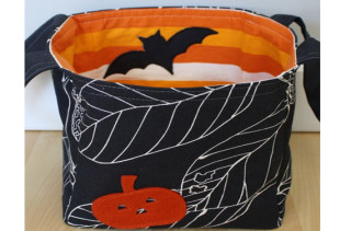 Jack on Black Hallowe'en Bucket