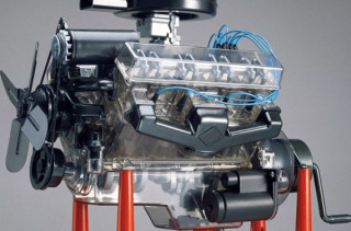 Visible V-8 Engine Assembly Kit