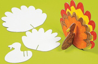 DIY 3-D Turkey