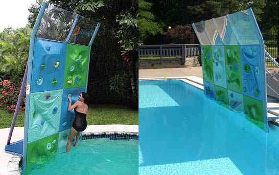 Six Panel Aquatic Climbing Wall Expensive Kids Toy