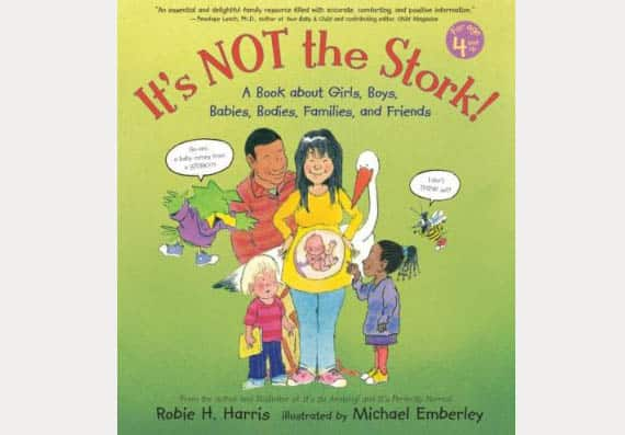 It's not the stork childrens books