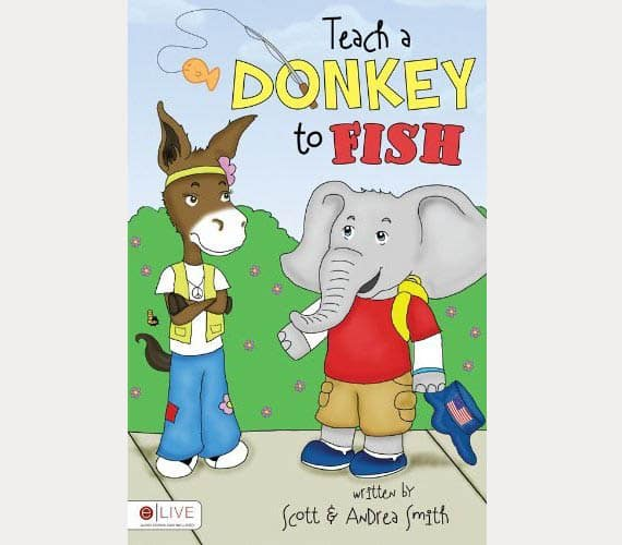 Teach Donkey To Fish Kids Book - Kid Crave