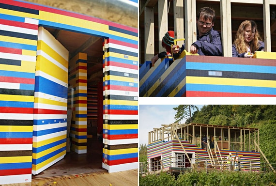 Real LEGO House built by James May