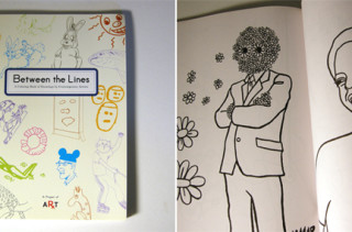 Between the Lines - Coloring Book