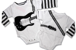 Mini Shatsu Electric Guitar Bodysuit