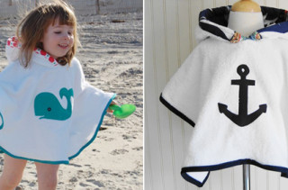 Trendy Tot Ponchos & Cover Ups