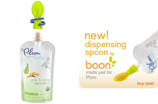 Boon x Plum Organics Dispensing Spoon