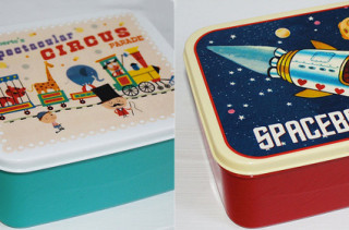 BirdyHome Retro Lunchboxes