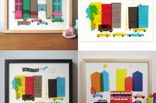 Personalized Street Scene Prints