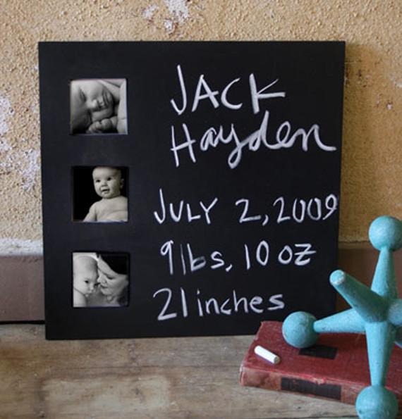 Multi-Photo Chalkboard Frame