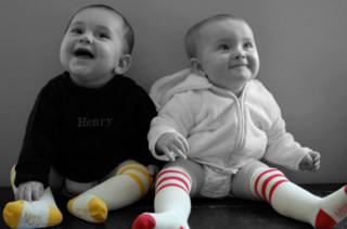 Hank & JoJo Retro Tube Socks
