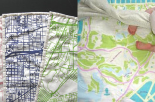Haptic Lab City Map Quilts