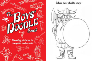 The Boys Doodle Book