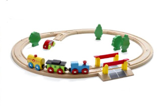 Nuchi Oval Train Set