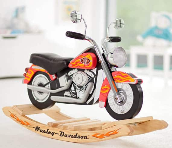 Captivating Harley Davidson Rocker
