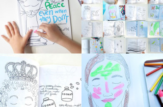 Everyone Dreams of Peace Coloring Book