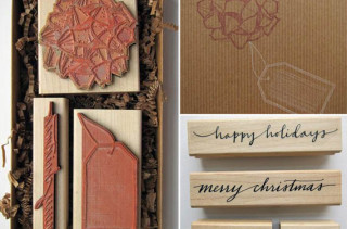 Gift Wrapping Stamp Set