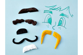 Kids Character Mustache Kit