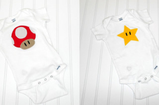 Super Mario Bros.Inspired Bodysuits