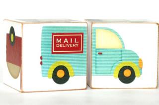 Toy Truck Wooden Blocks