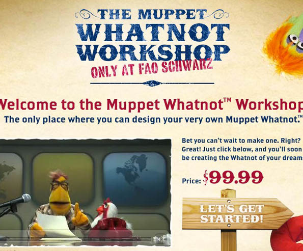 Muppet Whatnot Workshop