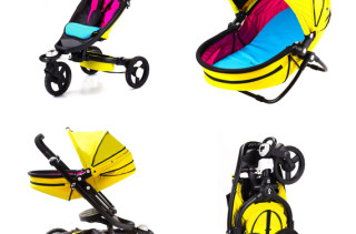 Bloom Zen Stroller + Newborn Nest