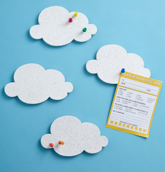 Cloud Message Board Set