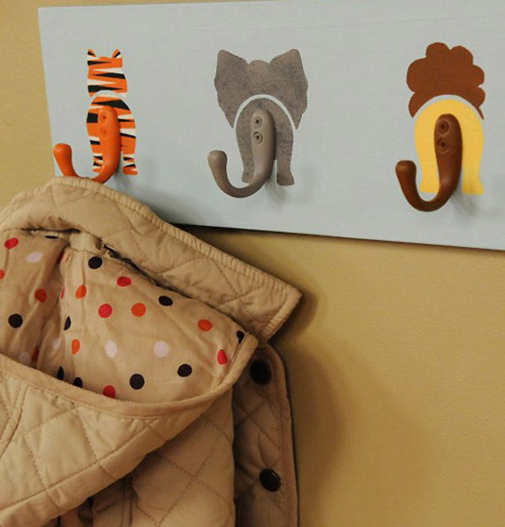 Charming Animal Hooks