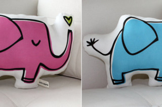 Little Korboose Elephant Pillows