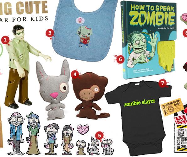 Walking Cute: Zombie Gear For Kids