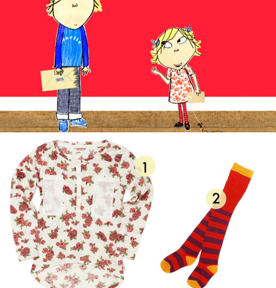 How To Dress Your Kids Like Charlie & Lola