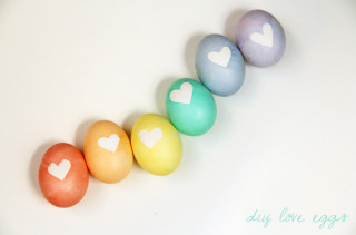DIY Love Eggs