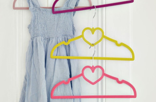 Heart Clothes Hangers