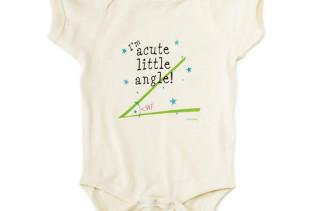 Acute Angle Baby Bodysuit
