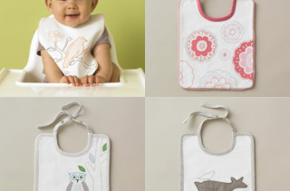Splurge - Dwell Studio Embroidered Bibs