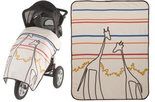 Gyraffe Stroller Blanket