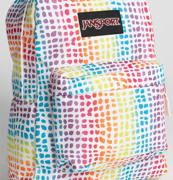 Rainbow Jansport Backpack