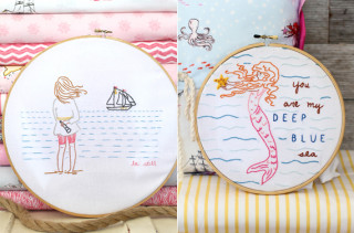 Sarah Jane Studios Embroidery Patterns
