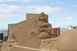 Amazing & Geeky Sand Sculptures