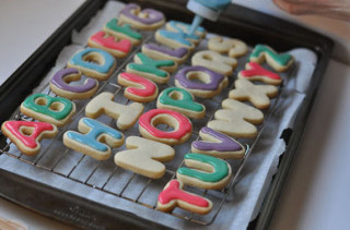 Alphabet Cookies For Teacher