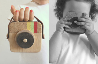 Instagram-Inspired Wood Toy