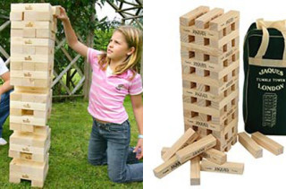 Giant Jenga-like Tumble Tower