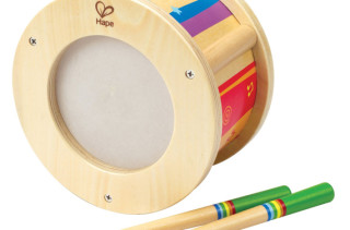 Hape Wooden Drum Toy