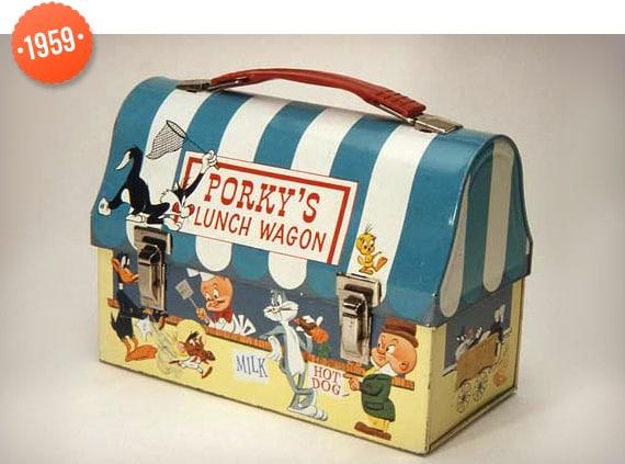 1959 Kids Lunch Box