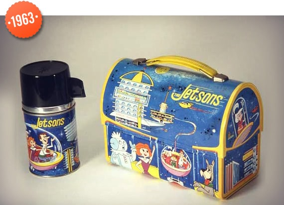 1963 History Of Lunch Box