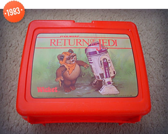 1983 Star Wars Return Of The Jedi Lunch Box