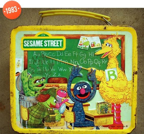 Sesame Street Lunch box