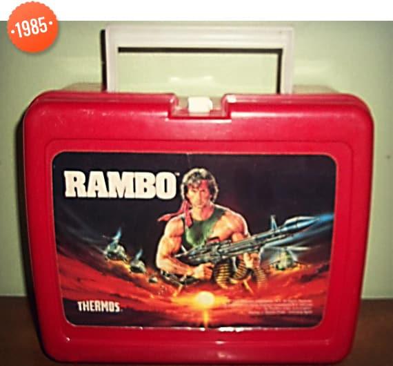 1985 Rambo Lunchbox