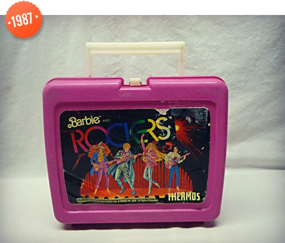 1987 Barbie Rogers Lunch Box